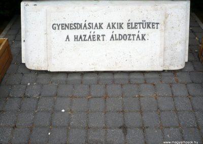 Gyenesdiás világháborús emlékmű 2011.09.15. küldő-Sümec (10)