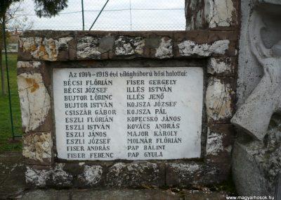 Gyepükaján világháborús emlékmű 2013.10.30. küldő-Sümec (2)
