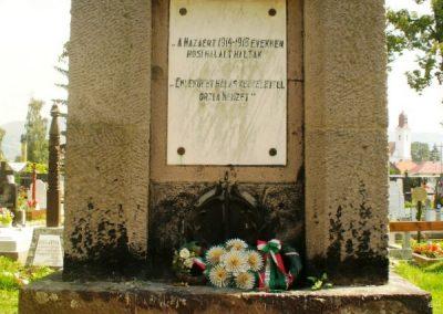Gyergyószentmiklós I.vh emlékmű 2010.08.05. küldő-ERA (1)