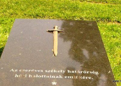 Gyergyószentmiklós Székely határőrök emlékére 2010.08.05. küldő-ERA (1)