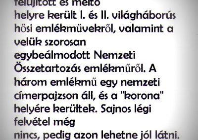Gyermely világháborús emlékművek 2013.12.31. küldő-M. Nagy Sándor