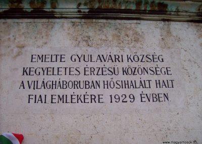 Gyulavári I.vh emlékmű 2007.11.08.küldő-Lófő (2)