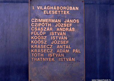 Háromfa világháborús emlékmű 2014.10.18. küldő-Huber Csabáné (3)