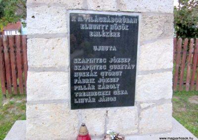 Háromhuta- Újhuta II. világháborús emlékmű 2012.08.19. küldő-kalyhas (3)