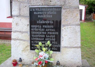Háromhuta- Középhuta II. világháborús emlékmű 2012.08.19. küldő-kalyhas (3)