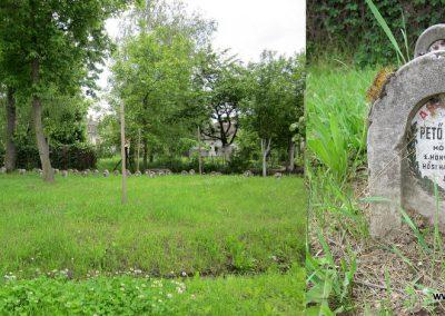 Hévízgyörk I. világháborús sírkövek a világháborús emlékmű mellett 2014.05.05. küldő-kalyhas (1)