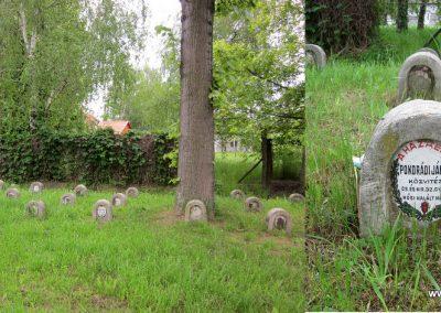 Hévízgyörk I. világháborús sírkövek a világháborús emlékmű mellett 2014.05.05. küldő-kalyhas (4)
