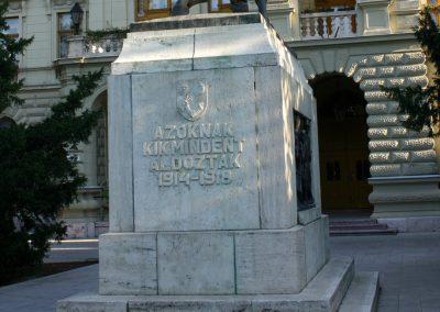 Hódmezővásárhely I. világháborús emlékmű 2008.08.14. küldő-Venge (6)