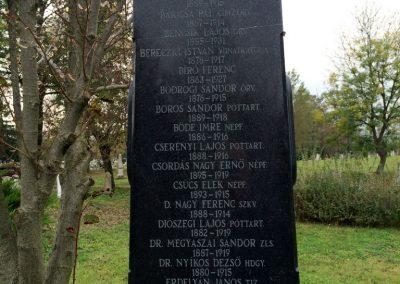 Hódmezővásárhely, Kincses temető - Hősi parcella I. és II. világháborús emlékhely 2014.10.21. küldő-Sümec (12)