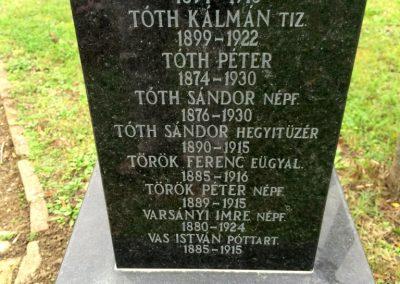 Hódmezővásárhely, Kincses temető - Hősi parcella I. és II. világháborús emlékhely 2014.10.21. küldő-Sümec (15)