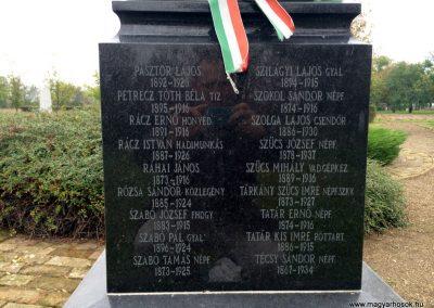 Hódmezővásárhely, Kincses temető - Hősi parcella I. és II. világháborús emlékhely 2014.10.21. küldő-Sümec (17)