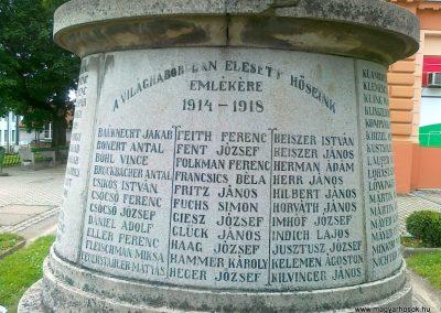 Hőgyész I.vh emlékmű 2011.06.15. küldő-Csiszár Lehel
