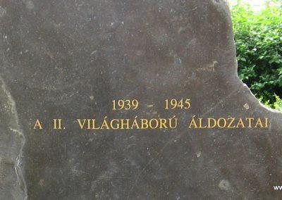 Hajdúdorog I. és II. világháborús emlékmű 2007.06.01.küldő-Kályhás (6)