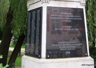 Hajdúhadház I.vh emlékmű 2010.06.18. küldő-Tóth Miklós (3)