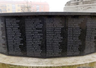 Hajdúszoboszló felújított I. világháborús emlékmű 2018.01.28. küldő-kalyhas (12)