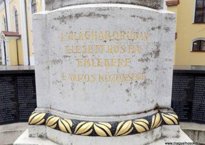 Hajdúszoboszló felújított I. világháborús emlékmű 2018.01.28. küldő-kalyhas (3)