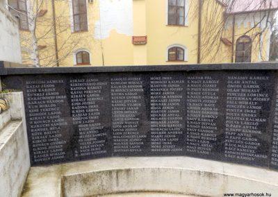 Hajdúszoboszló felújított I. világháborús emlékmű 2018.01.28. küldő-kalyhas (7)