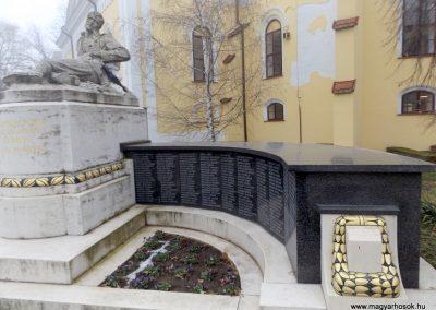 Hajdúszoboszló felújított I. világháborús emlékmű 2018.01.28. küldő-kalyhas (9)