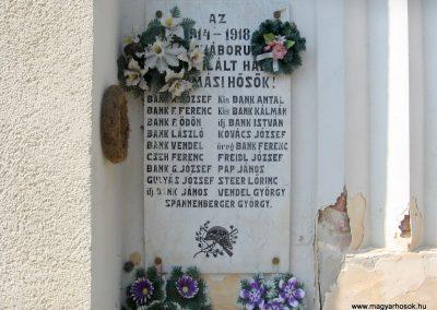 Hajmás világháborús emléktáblák 2011.04.23. küldő-kalyhas (3)