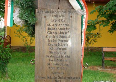 Halmaj I.vh kopjafa 2011.05.23. küldő-megtorló (2)