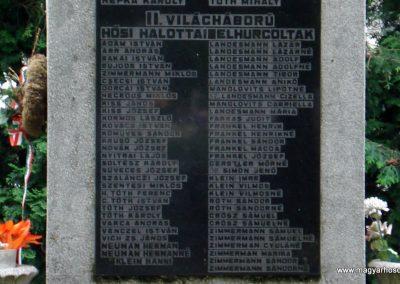 Halmaj világháborús emlékmű 2011.05.23. küldő-megtorló (2)