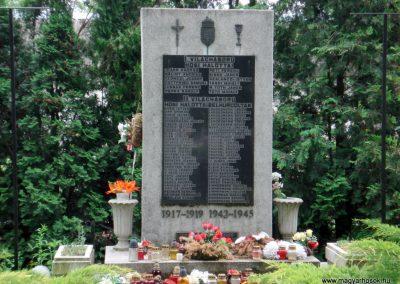 Halmaj világháborús emlékmű 2011.05.23. küldő-megtorló