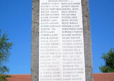 Harsány felújított I.világháborús emlékmű 2012.05.20. küldő-kalyhas (5)