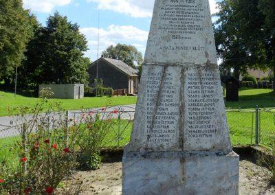 Hedrehely I. világháborús emlékmű 2014.08.28. küldő-Huber Csabáné (2)