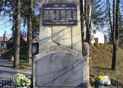 Hegyhátszentjakab világháborús emlékmű 2008.02.19. küldő-HunMi (5)
