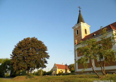 Hegymagas, Lengyel kápolna