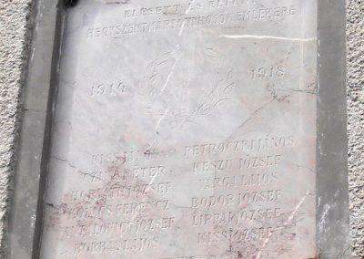 Hegyszentmárton világháborús emléktáblák 2013.05.11. küldő-Bagoly András (2)