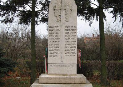Hejőbába I.vh emlékmű 2007.11.20. küldő-Kályhás