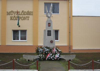 Hejőbába világháborús emlékmű 2007.11.20. küldő-Kályhás
