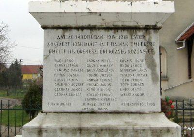Hejőkeresztúr világháborús emlékmű 2007.11.20. küldő-Kályhás (3)