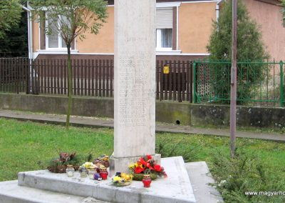 Hejőszalonta világháborús emlékmű 2007.11.20. küldő-kalyhas (2)