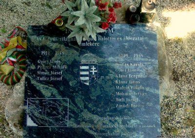 Herceghalom világháborús emlékmű 2011.05.24. küldő-Csiszár Lehel (2)