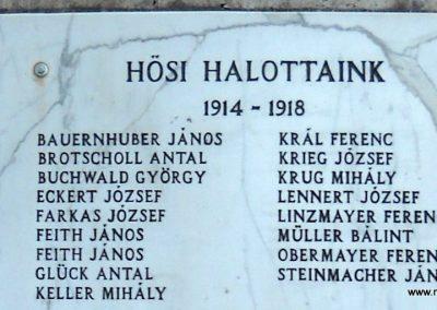 Herend világháborús emlékmű 2011.09.10. küldő-Kramlik Tamás (1)