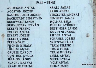 Herend világháborús emlékmű 2011.09.10. küldő-Kramlik Tamás (2)