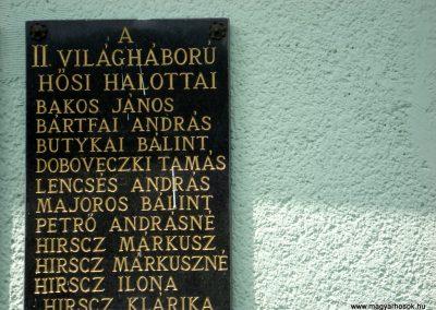 Hernádbüd világháborús emléktáblák 2011.08.10. küldő-megtorló (3)