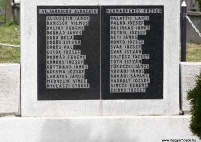 Hernádkércs világháborús emlékmű 2009.05.28.küldő-Gombóc Arthur (2)