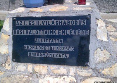 Hernádpetri világháborús emlékmű 2012.07.18. küldő-megtorló (3)