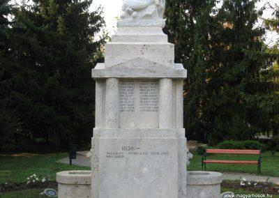 Heves I.vh emlékmű 2007.08.21. küldő-kalyhas (7)