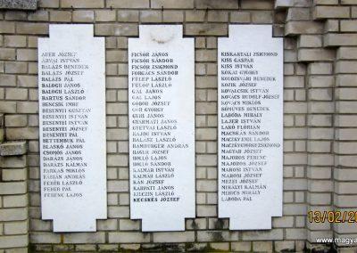 Heves II. világháborús emlékmű 2019.02.13. küldő-kalyhas (17)