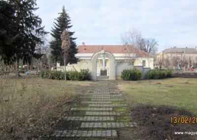 Heves II. világháborús emlékmű 2019.02.13. küldő-kalyhas