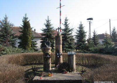 Hevesvezekény világháborús emlékmű 2008.02.25. küldő-kalyhas