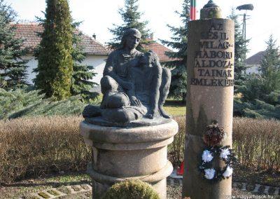 Hevesvezekény világháborús emlékmű 2008.02.25.küldő-Kályhás (1)