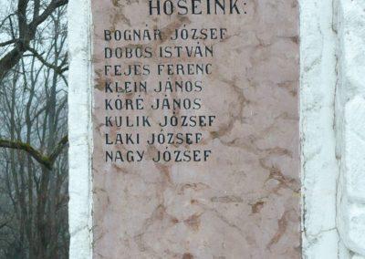 Homokkomárom I.vh emlékmű 2009.01.01.küldő-Sümec (3)