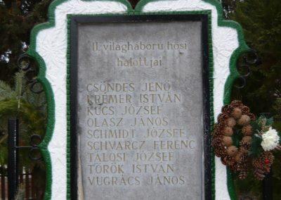 Homokkomárom II.vh emlékmű 2009.01.01.küldő-Sümec (1)