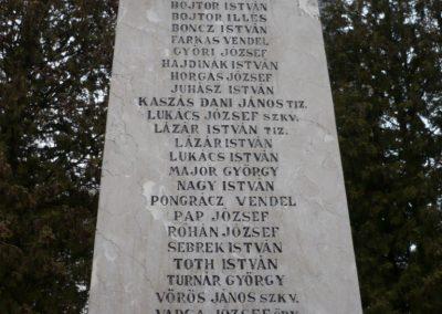 Homokszentgyörgy világháborús emlékmű 2010.03.02. küldő-Sümec (3)