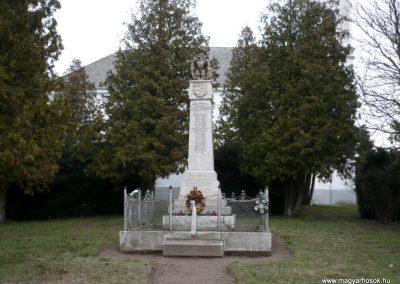 Homokszentgyörgy világháborús emlékmű 2010.03.02. küldő-Sümec